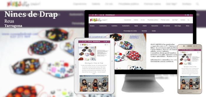 Diseño web Nines de Drap, Reus. Tarragona