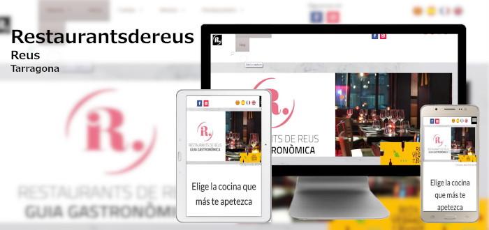 Diseño Webs Restaurants de Reus 2020